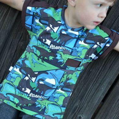 Dino Shirt für coole Jungs