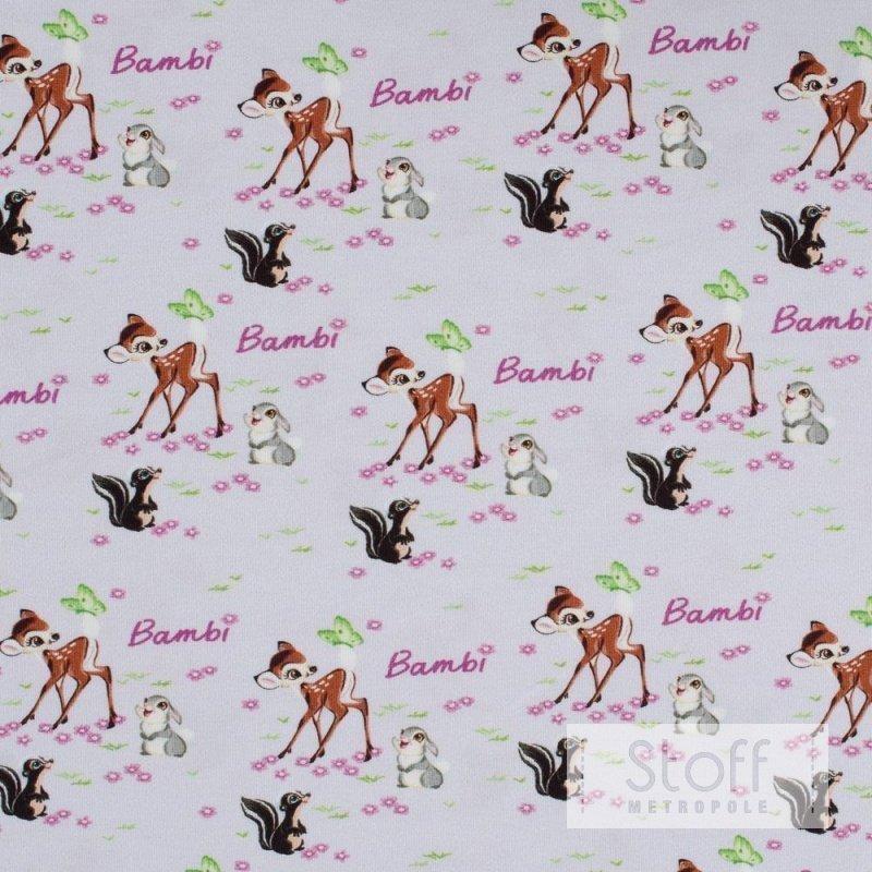 Original Bambi LizenzJersey  Bambi Klopfer  Blume auf hellgra
