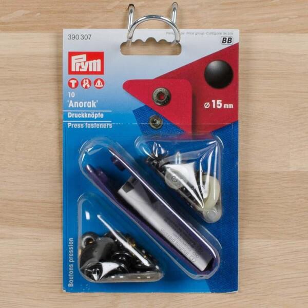266260 2 Hosen-// Rockhaken 12mm schwarz von Prym Art.-Nr